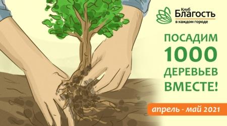 Сажаем деревья по всей планете! Участвуй!
